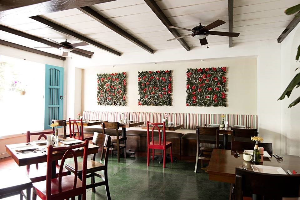Restaurant at Hotel Isla de Flores