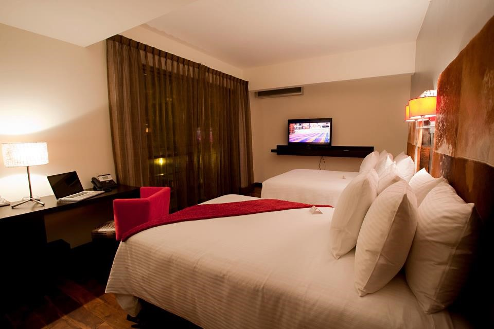 Twin room at Hotel La Inmaculada