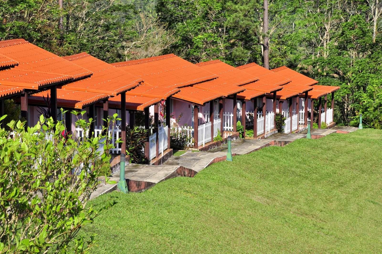 Cabanas at Hotel Los Jazmines in Vinales, Cuba