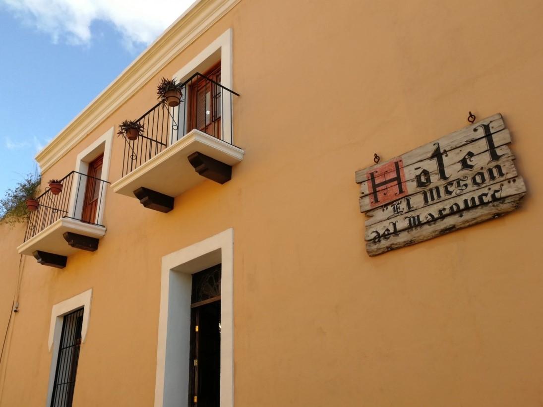 Exterior of Hotel Meson Del Marques