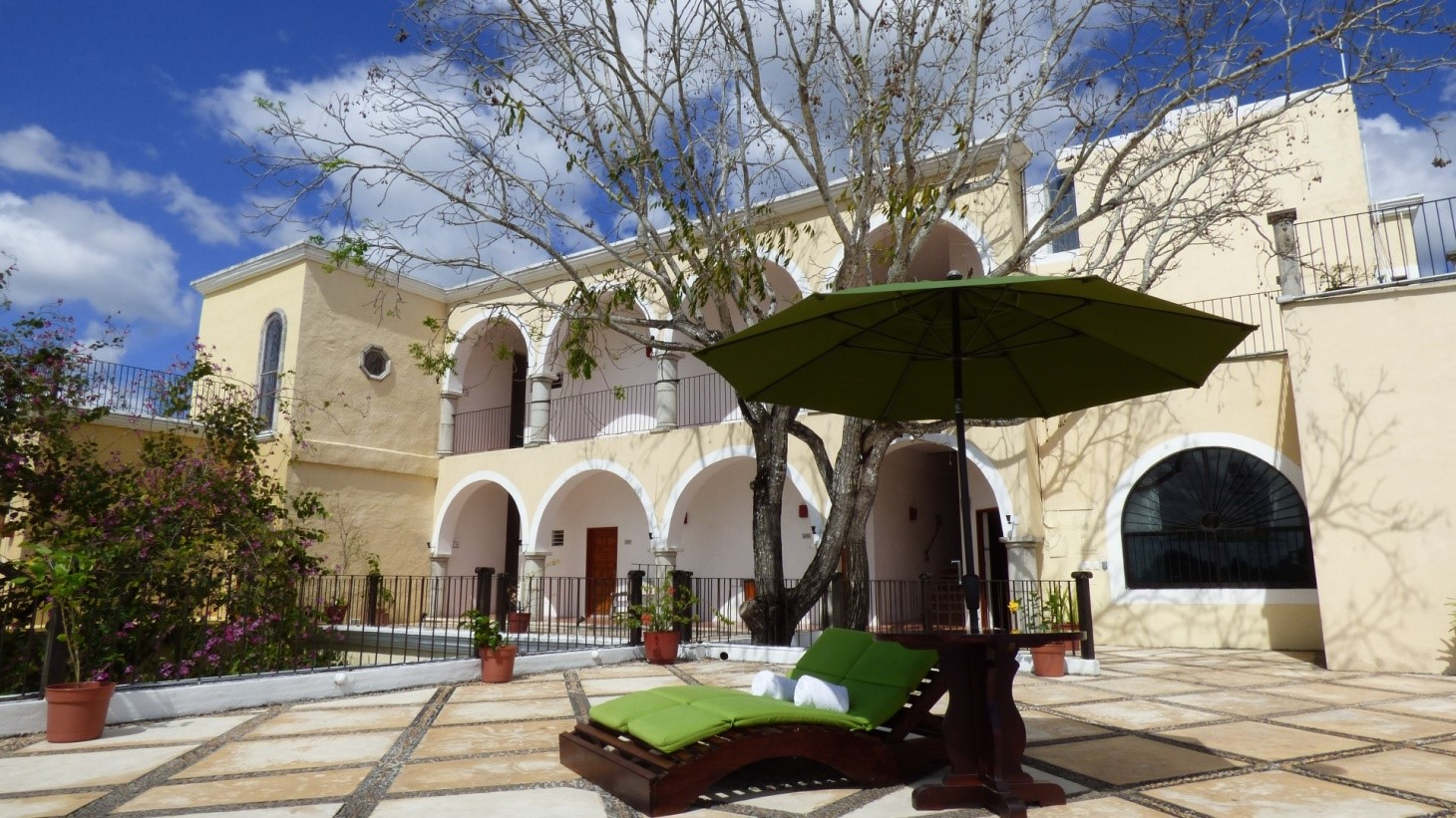 Outside at Hotel Meson Del Marques