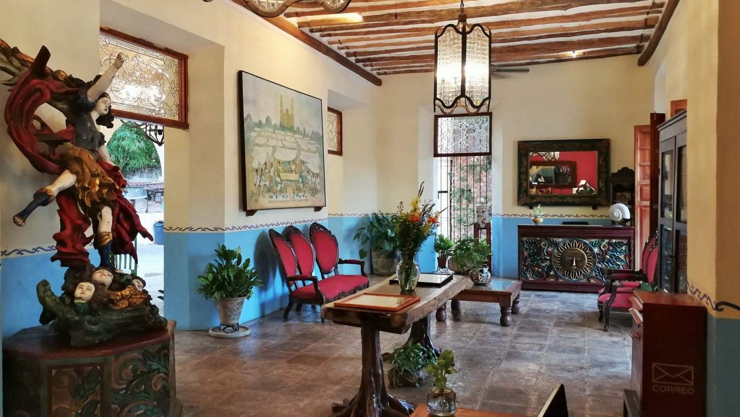 Reception at Hotel Meson Del Marques