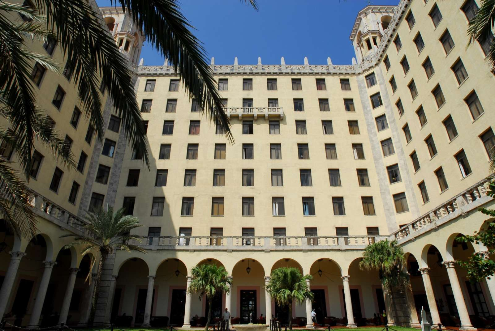 Interior of the Hotel Nacional in Havana, Cuba
