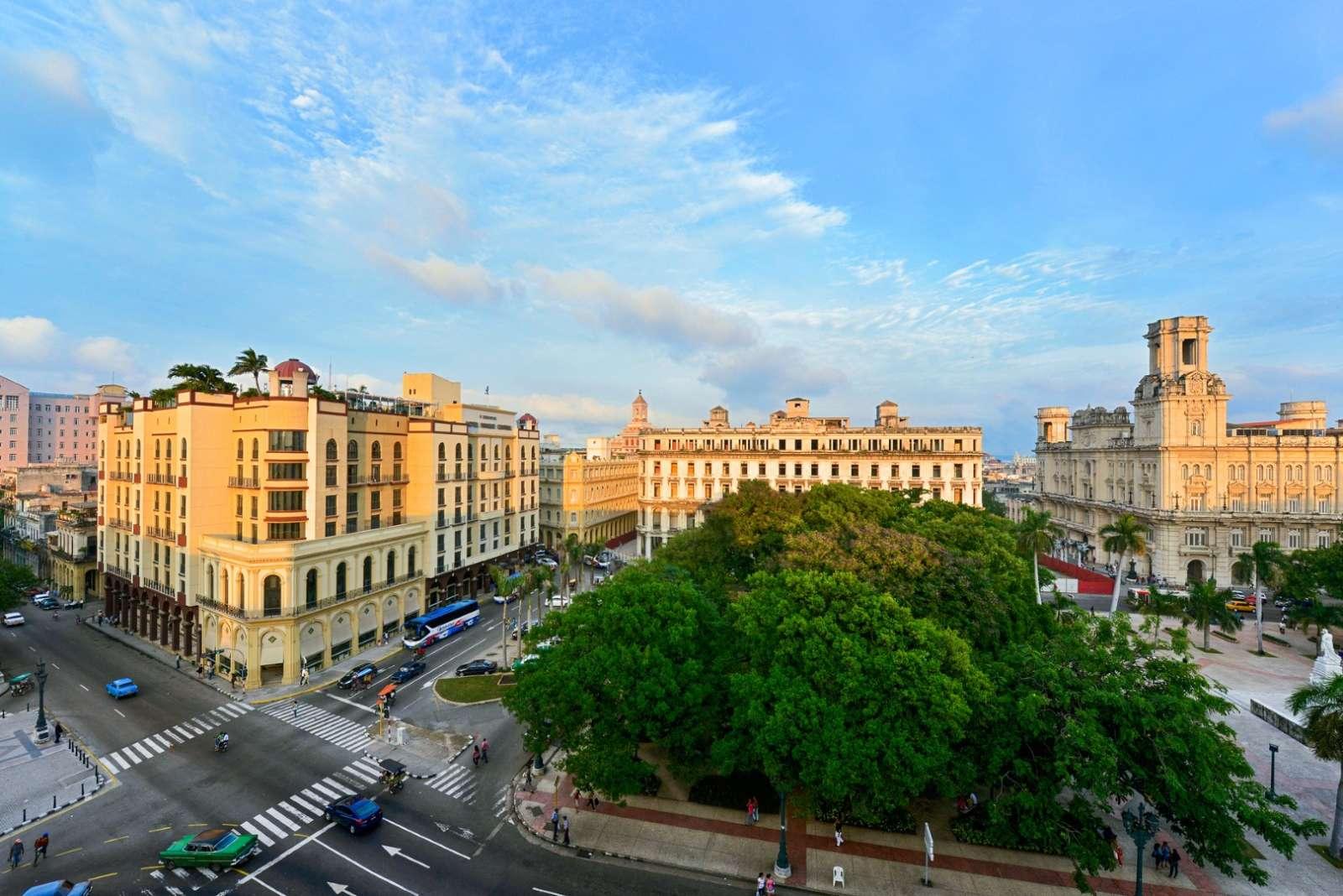 Parque Central in Havana, Cuba