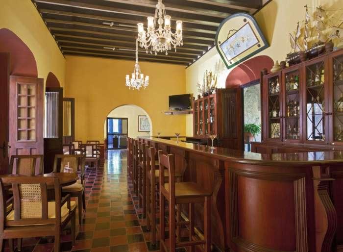 Bar at Hotel Puerta Campeche