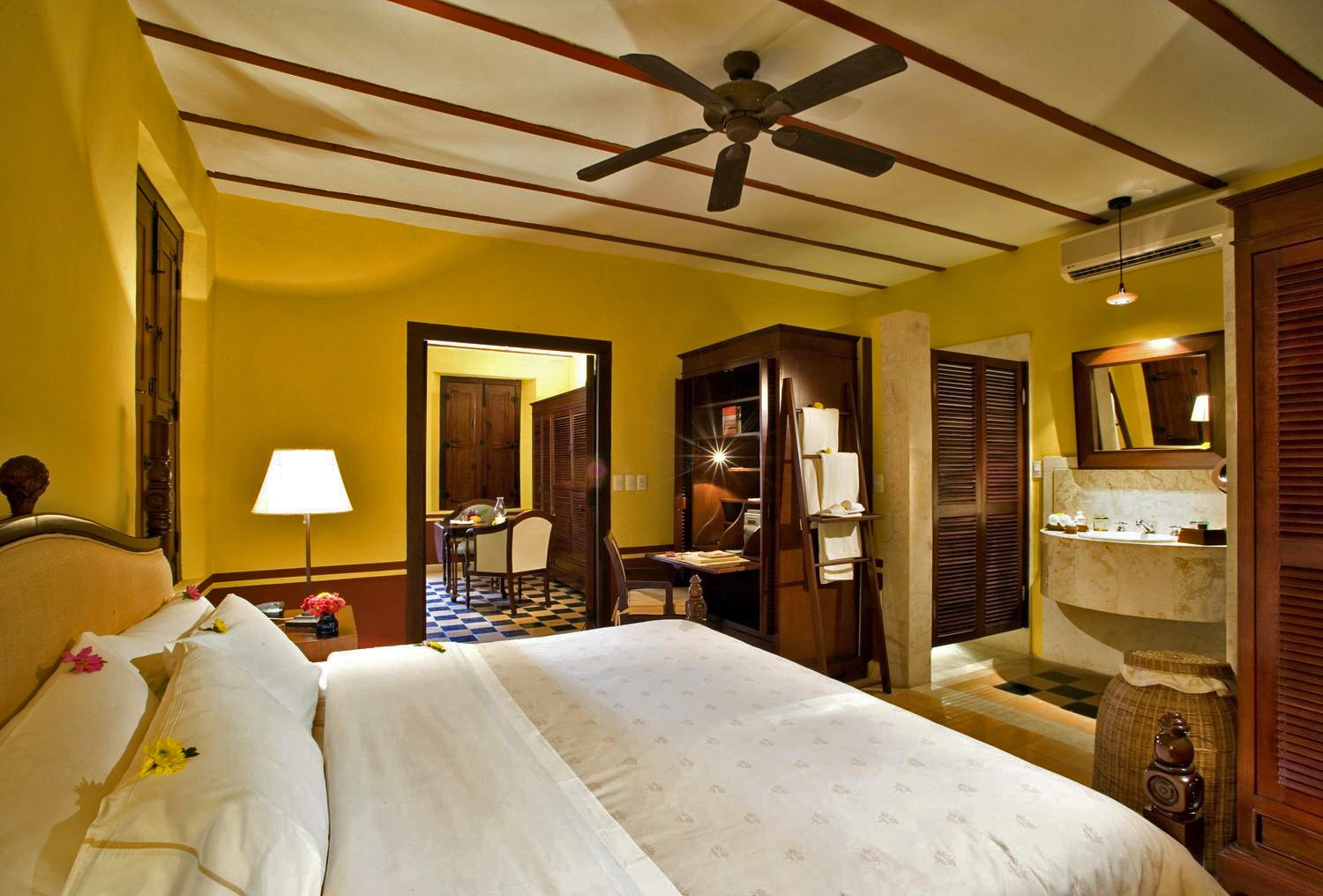 Room at Hotel Puerta Campeche