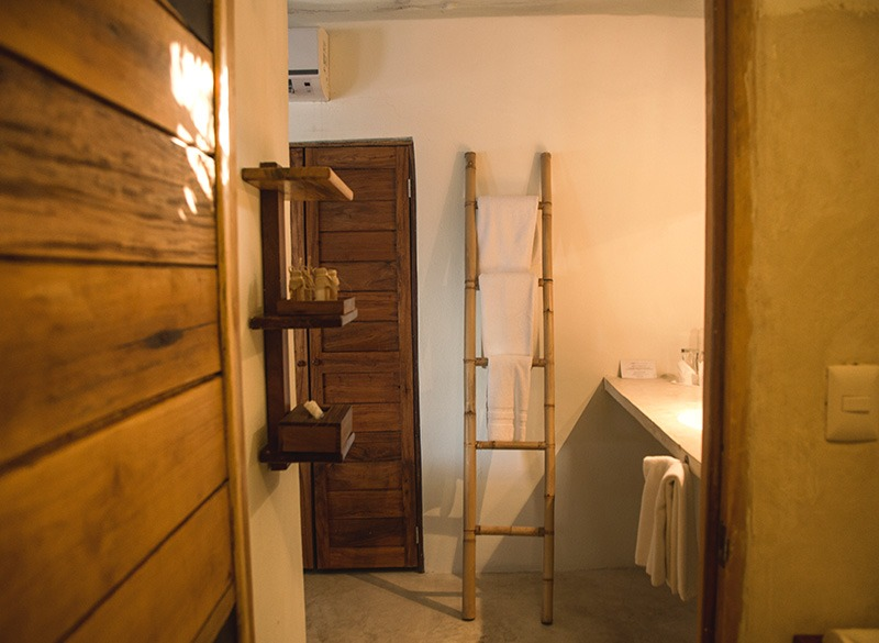 Bathroom at Hotel Rosa Del Viento