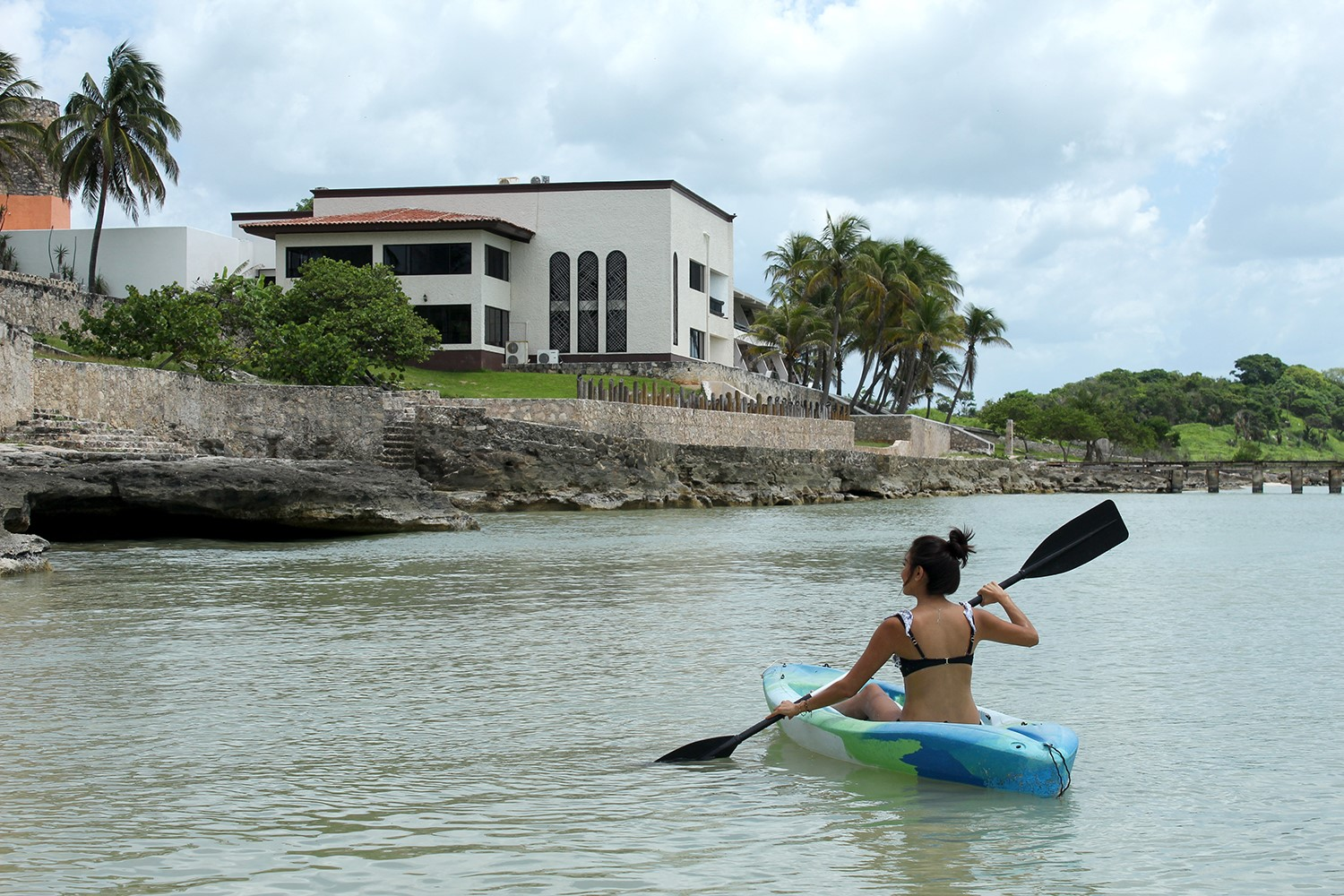Kayak at Hotel Tucan Siho Playa Campeche