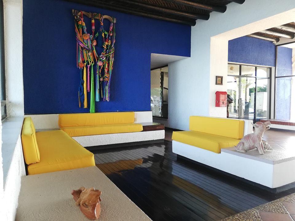 Lobby of Hotel Tucan Siho Playa Campeche