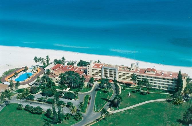 The original Hotel Internacional in Varadero, Cuba