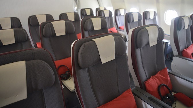 Iberia Premium Economy seating