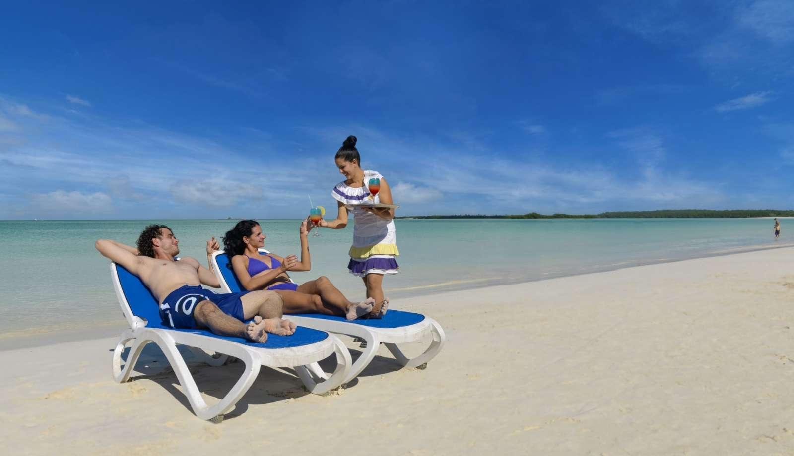 Beach service at Iberostar Ensenachos