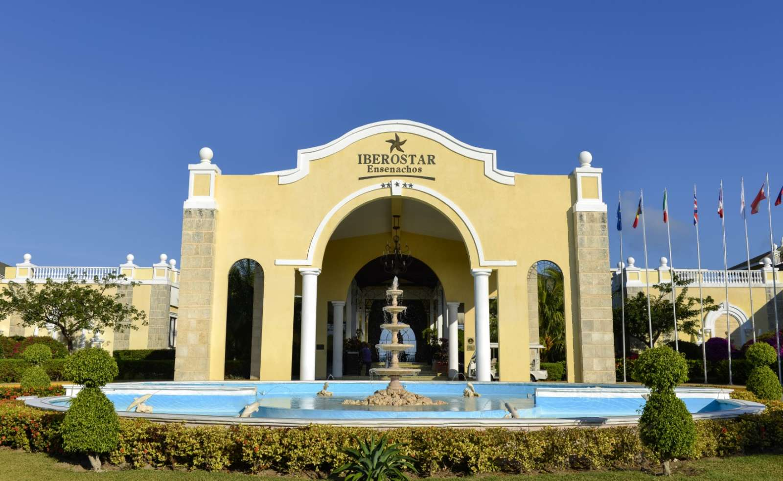 Entrance to Iberostar Ensenachos