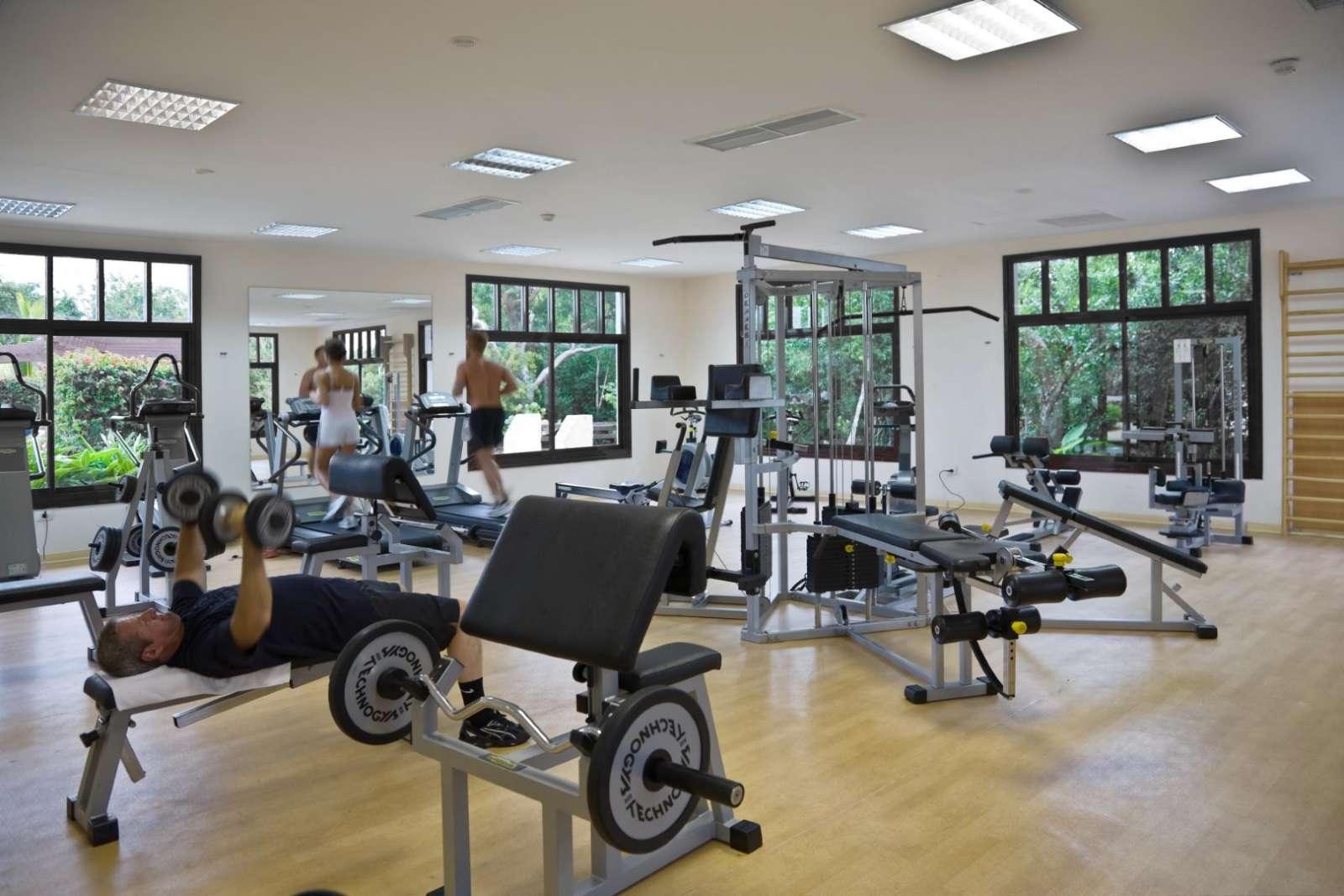 Gym at Iberostar Ensenachos