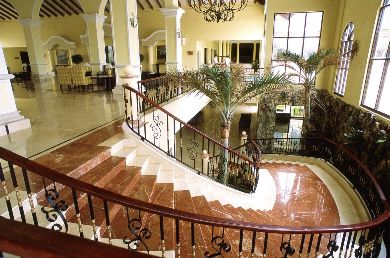 Lobby at Iberostar Ensenachos