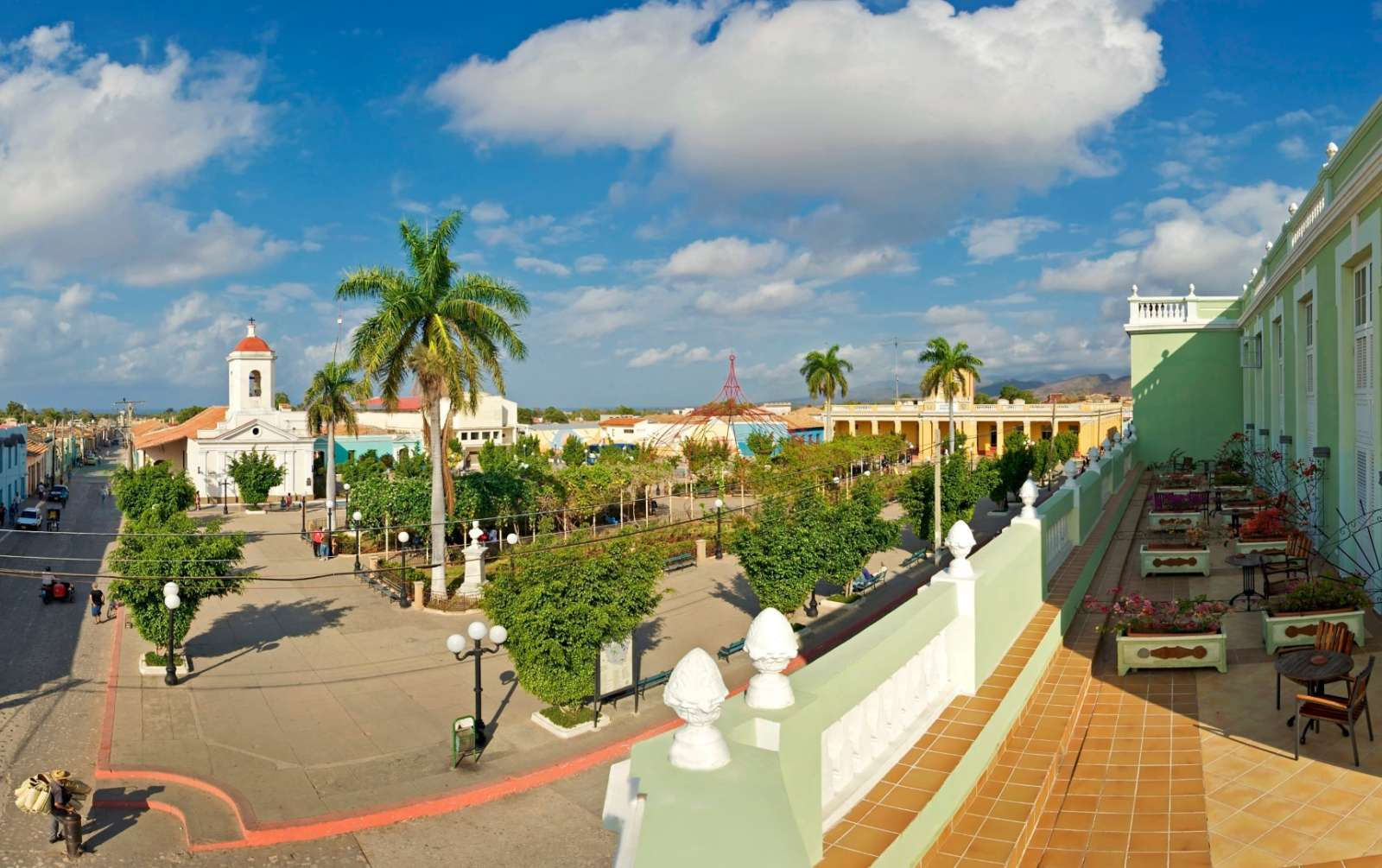 Room terraces at Iberostar Grand Trinidad