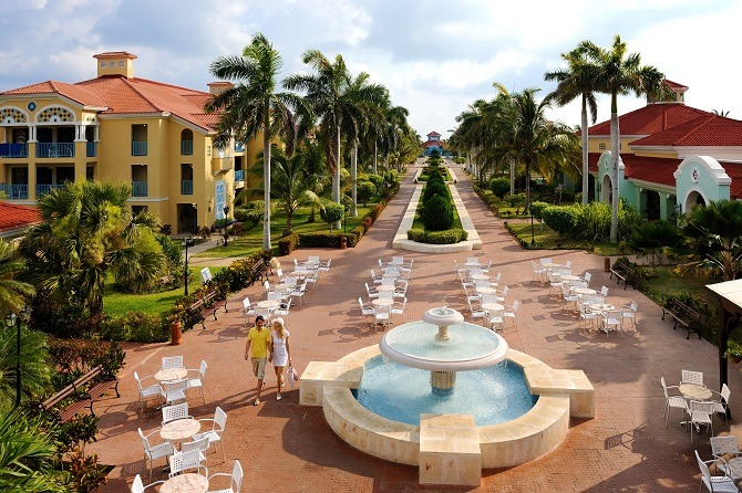 The Iberostar Alameda hotel in Varadero, Cuba