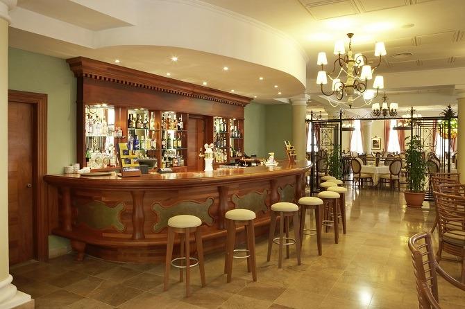 The bar at the Iberostar Grand Trinidad, Cuba