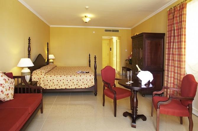 A room at the Iberostar Grand Trinidad in Cuba