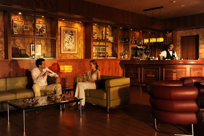 The cigar bar at the Iberostar Varadero