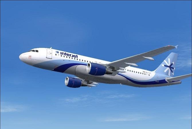 InterJet fly between Havana and Cancun
