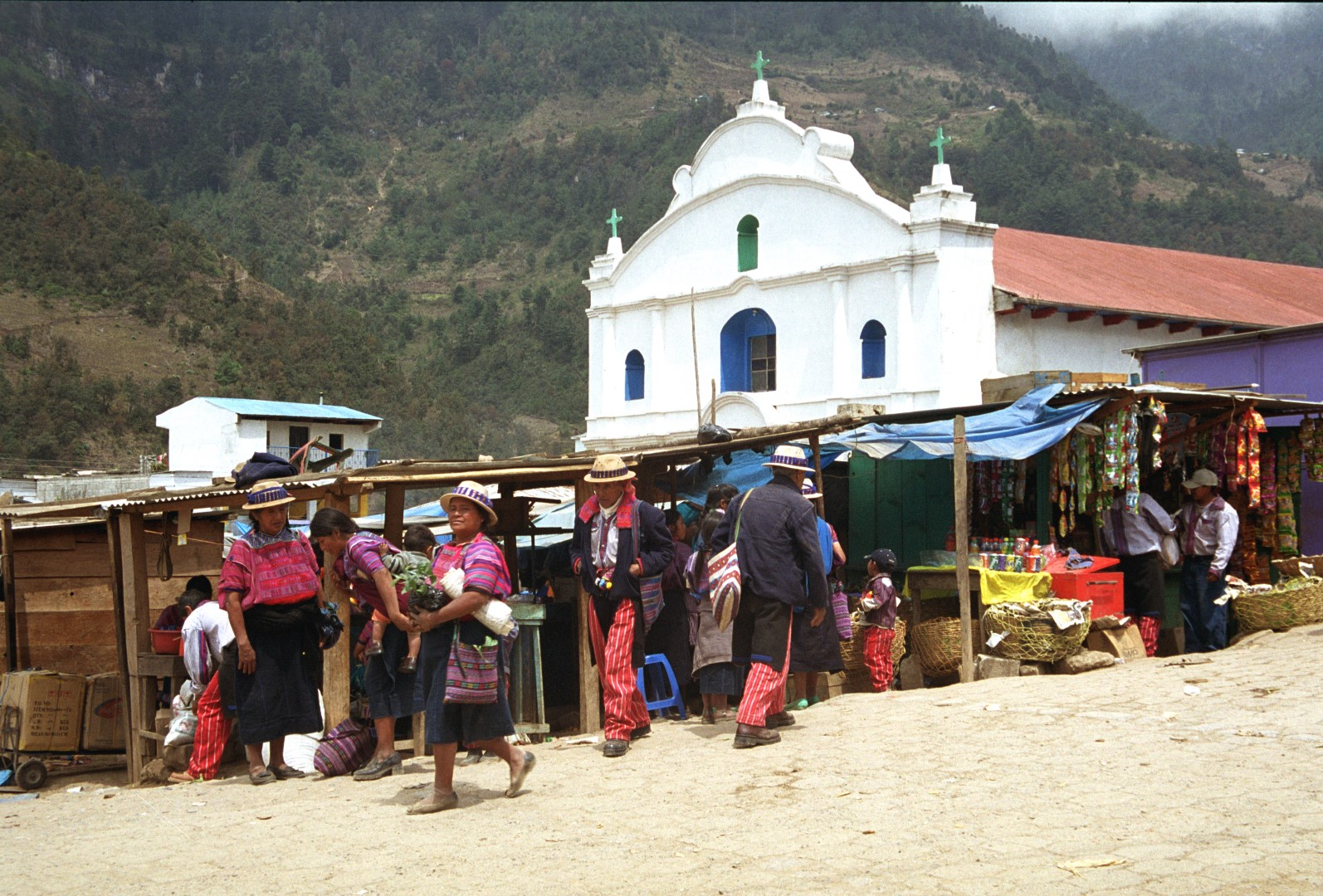 Mayan town in the Ixil Triangle of Guatemala