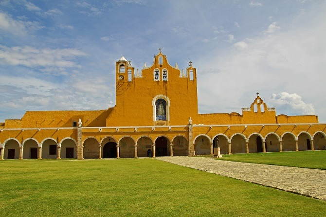 Izamal in the Yucatan Peninsula