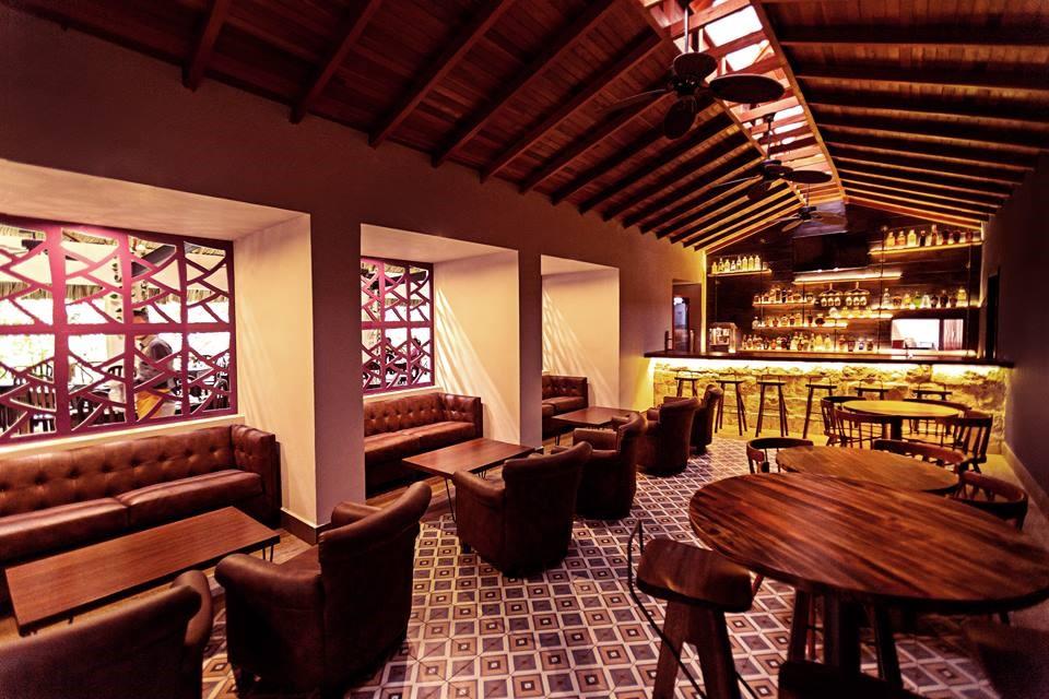 Bar at Jungle Lodge Tikal