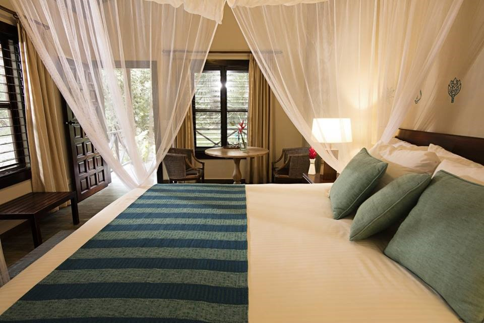 Double room at Jungle Lodge Tikal