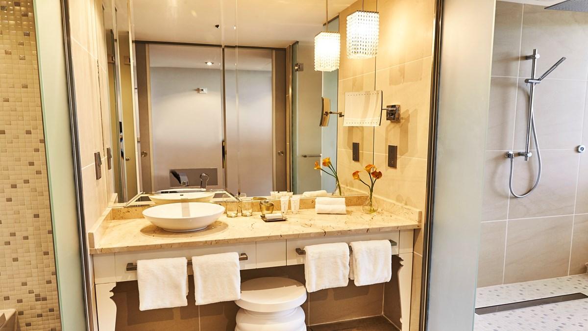 Bathroom at the Kempinski Havana hotel