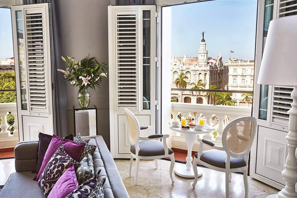 Room with a view at the Kempinski Havana hotel in Cuba