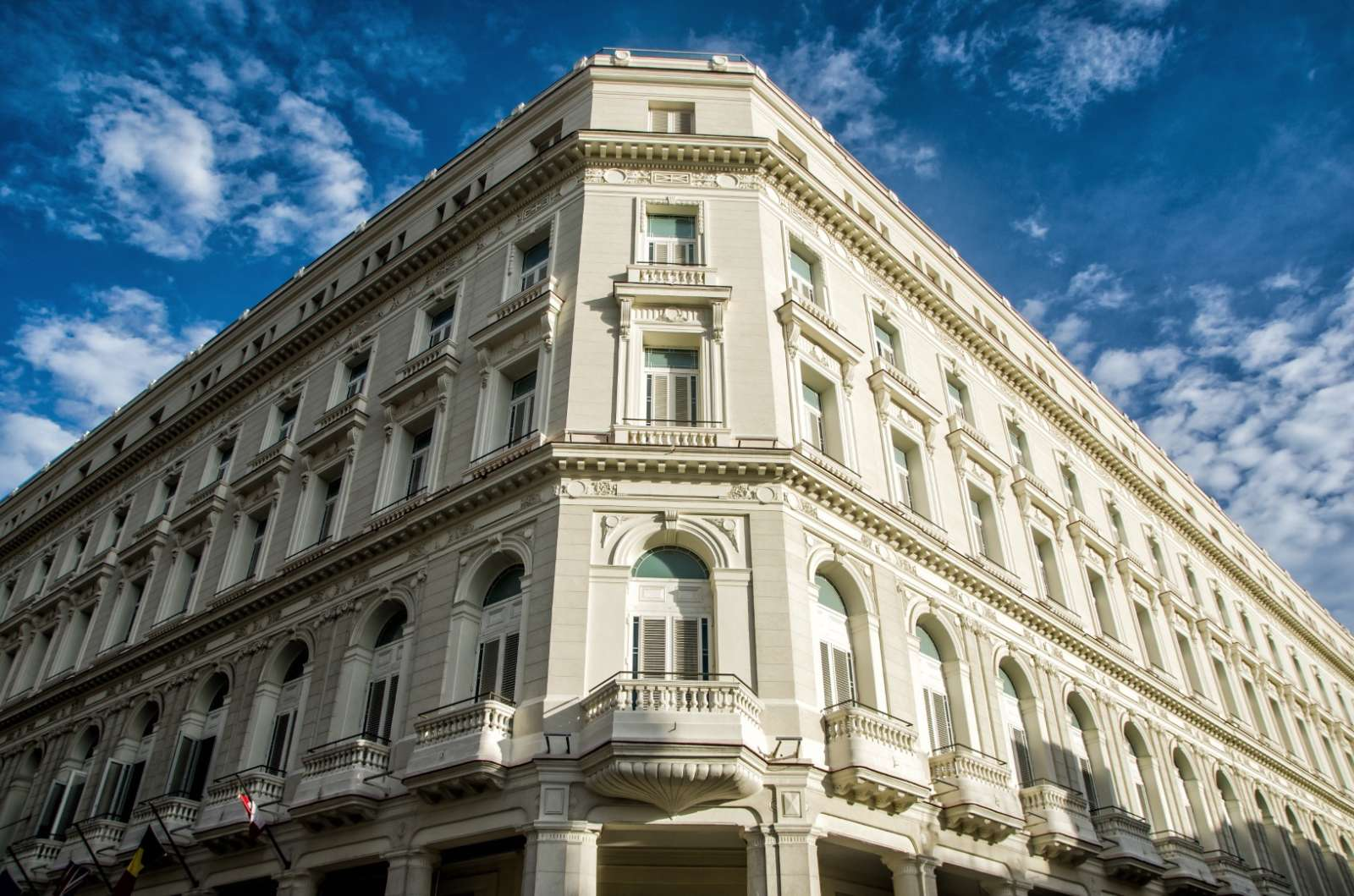 Exterior of the Kempinski Havana hotel in Cuba