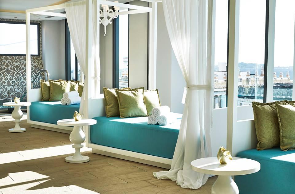 Spa facilities at the Kempinski Havana hotel in Cuba