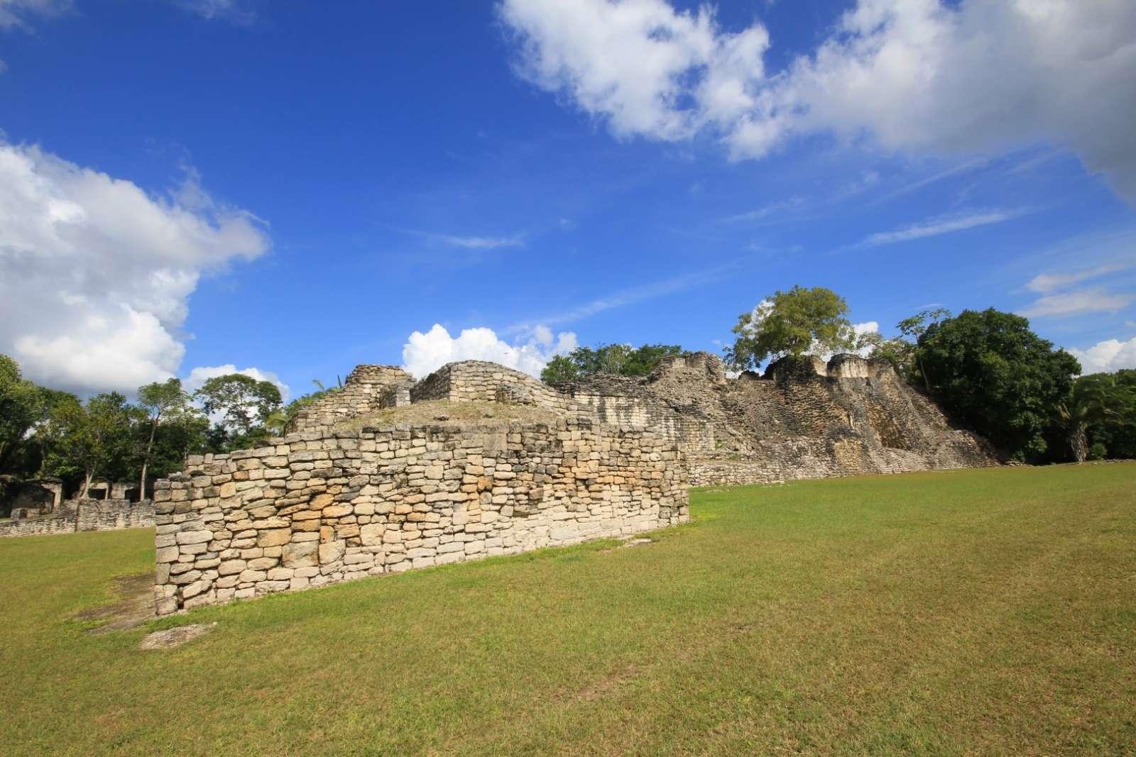 Kohunlich Mexico Maya Ruins