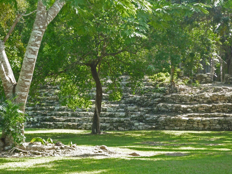 Kohunlich Mexico Mayan Ruins