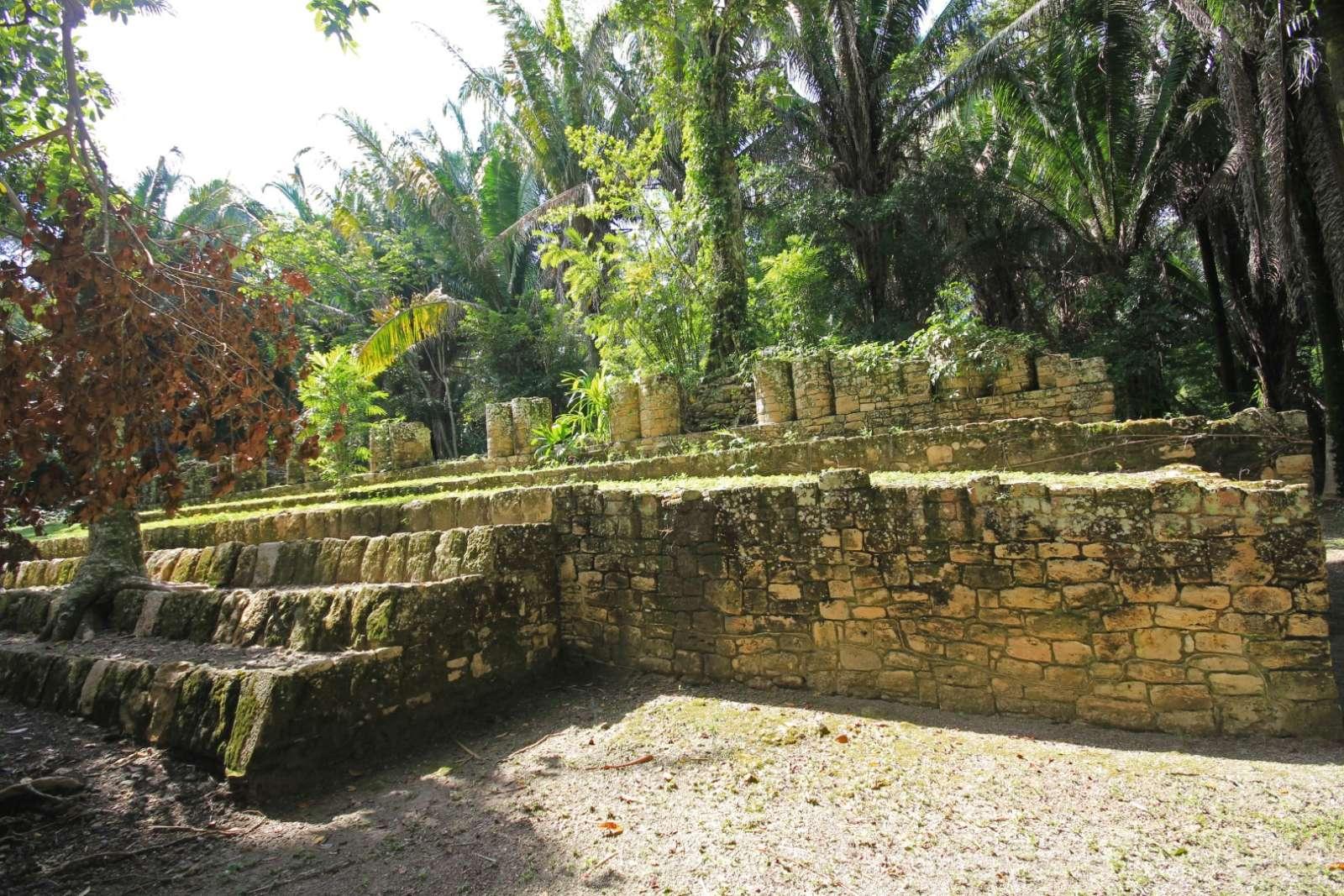 Kohunlich Mexico Ruins