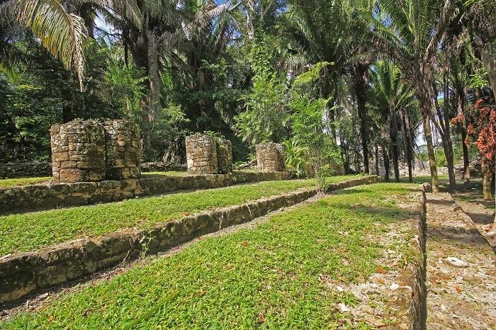 Mayan ruins at Kohunlich