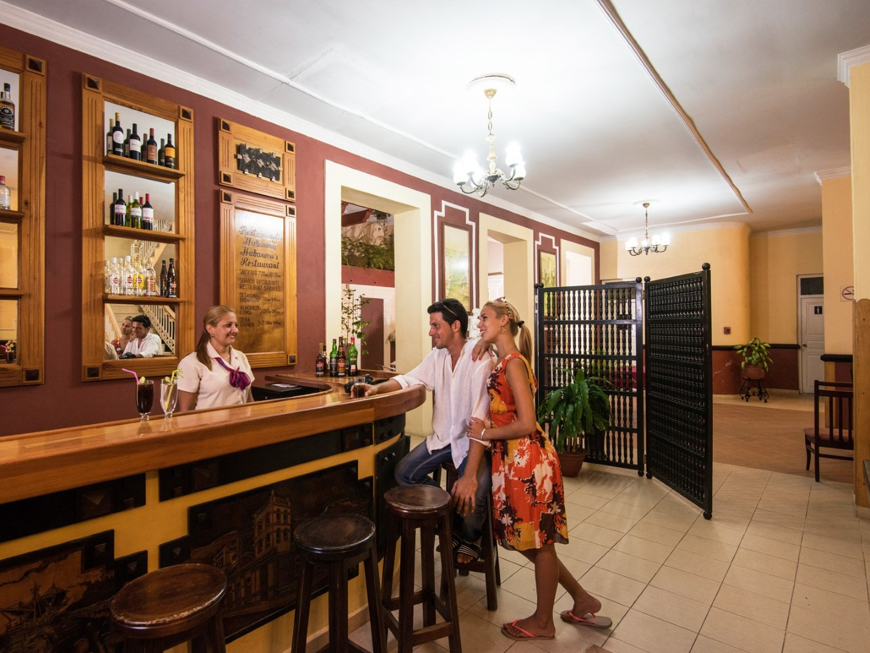 Bar at La Habanera hotel