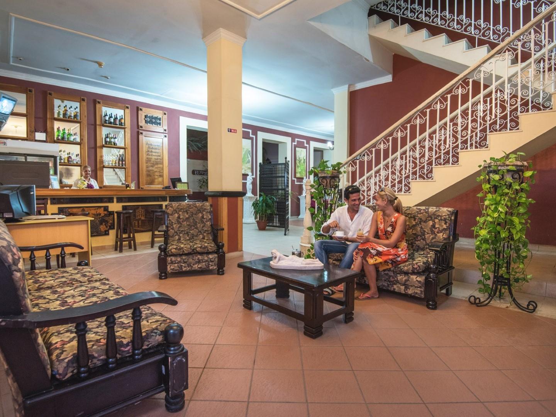 Lobby of La Habanera hotel