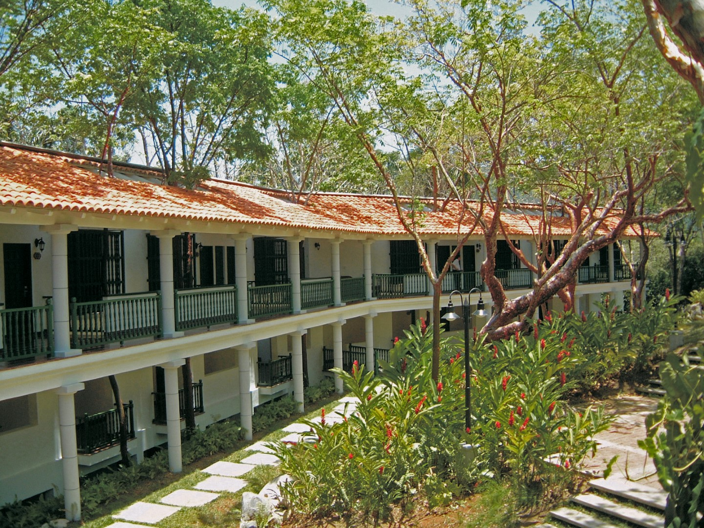 Accommodation at La Moka hotel in Las Terrazas, Cuba
