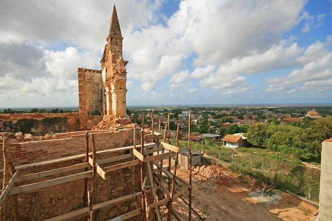 La Popa Iglesia in Trinidad
