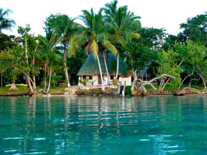 Accommodation in Laguna Bacalar