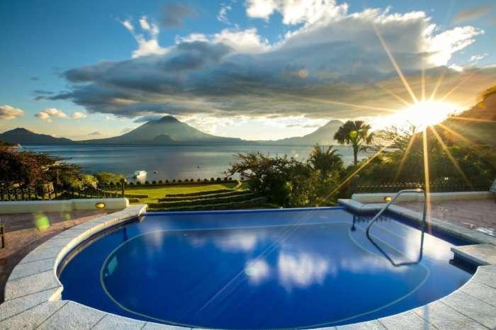 Accommodation on Lake Atitlan