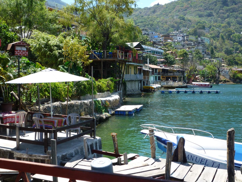 San Pedro La Laguna on Lake Atitlan, Guatemala