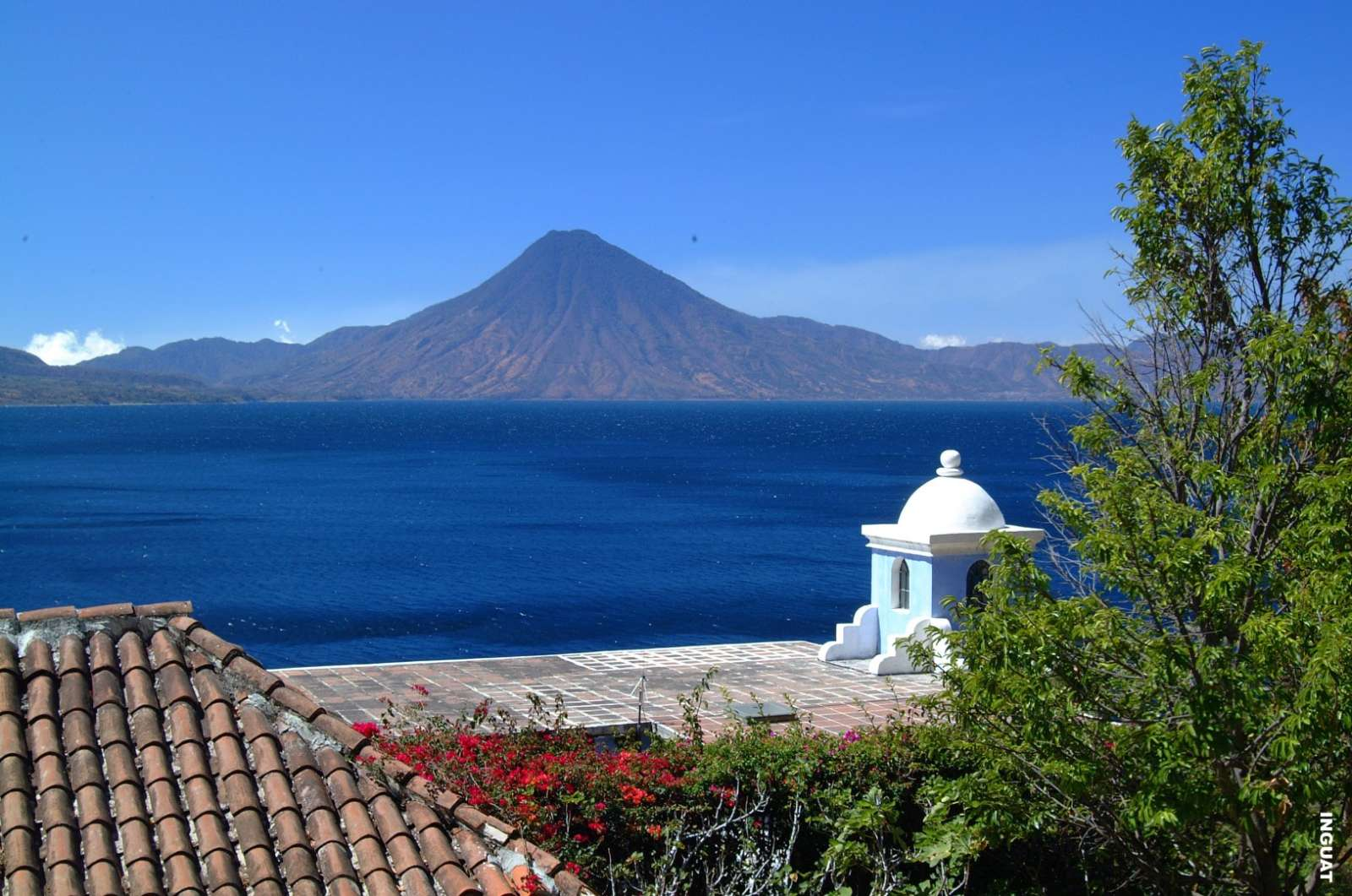 Santa Catarina in Lake Atitlan, Guatemala