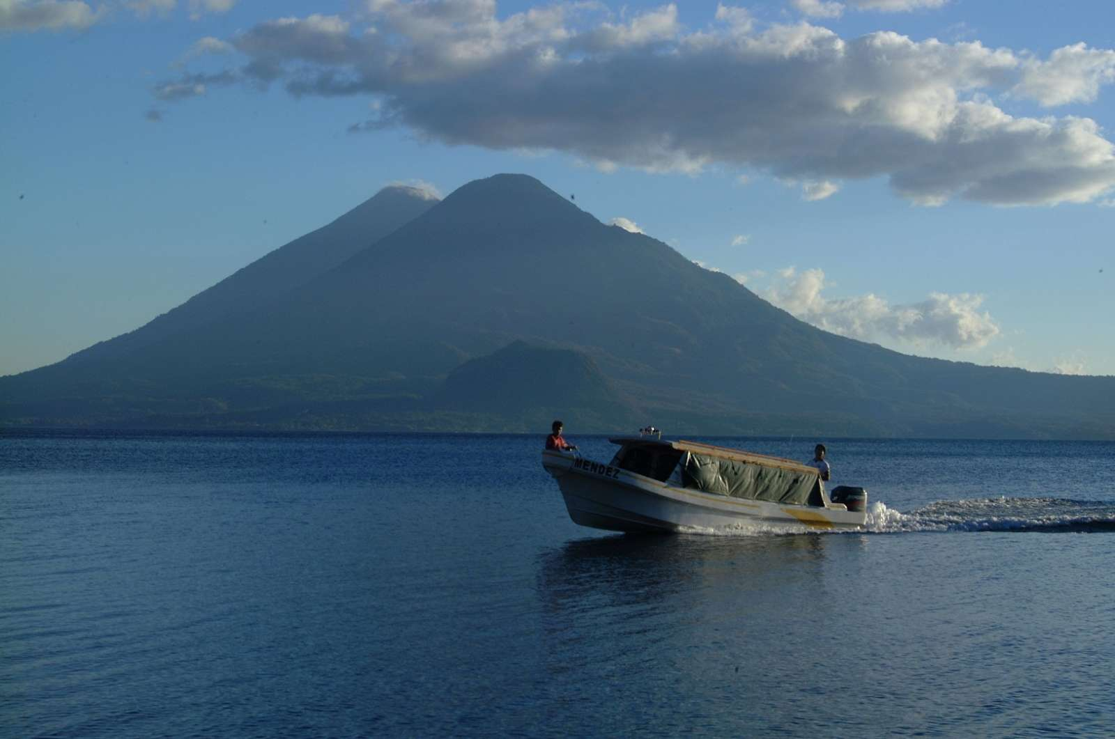 Lake taxi at Lake Atitlan, Guatemala