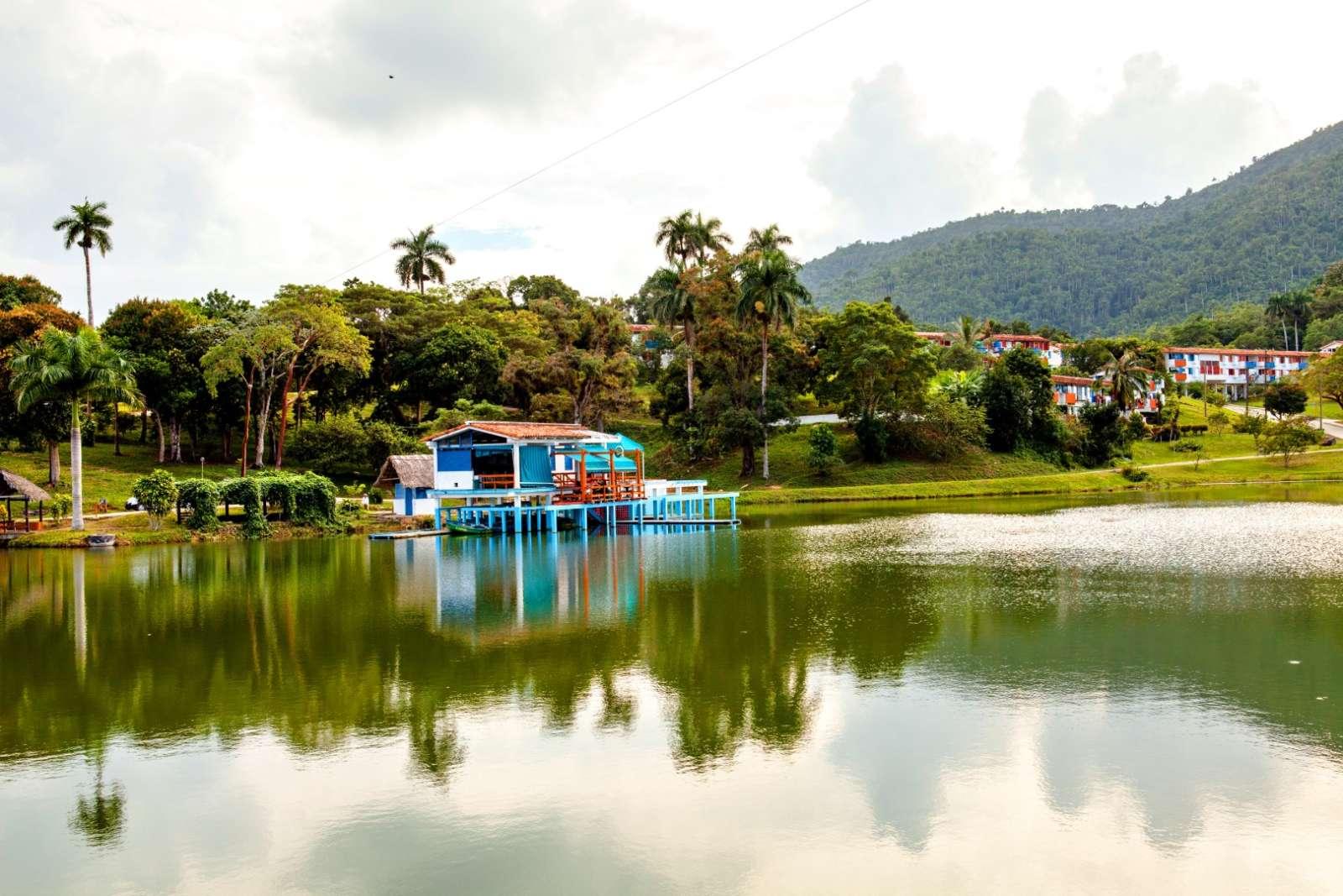 Boathouse at Las Terrazas, Cuba