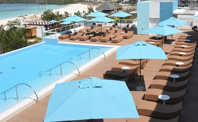 Las Salinas Resort on the island of Cayo Las Brujas