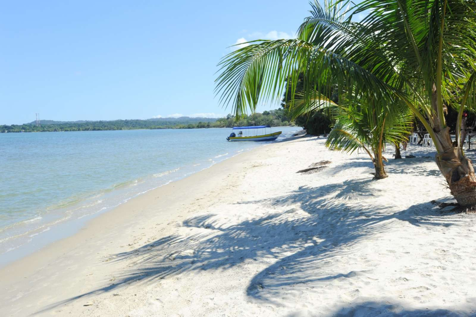 Beach Of Playa Blanca Near Livingston, Guatemala