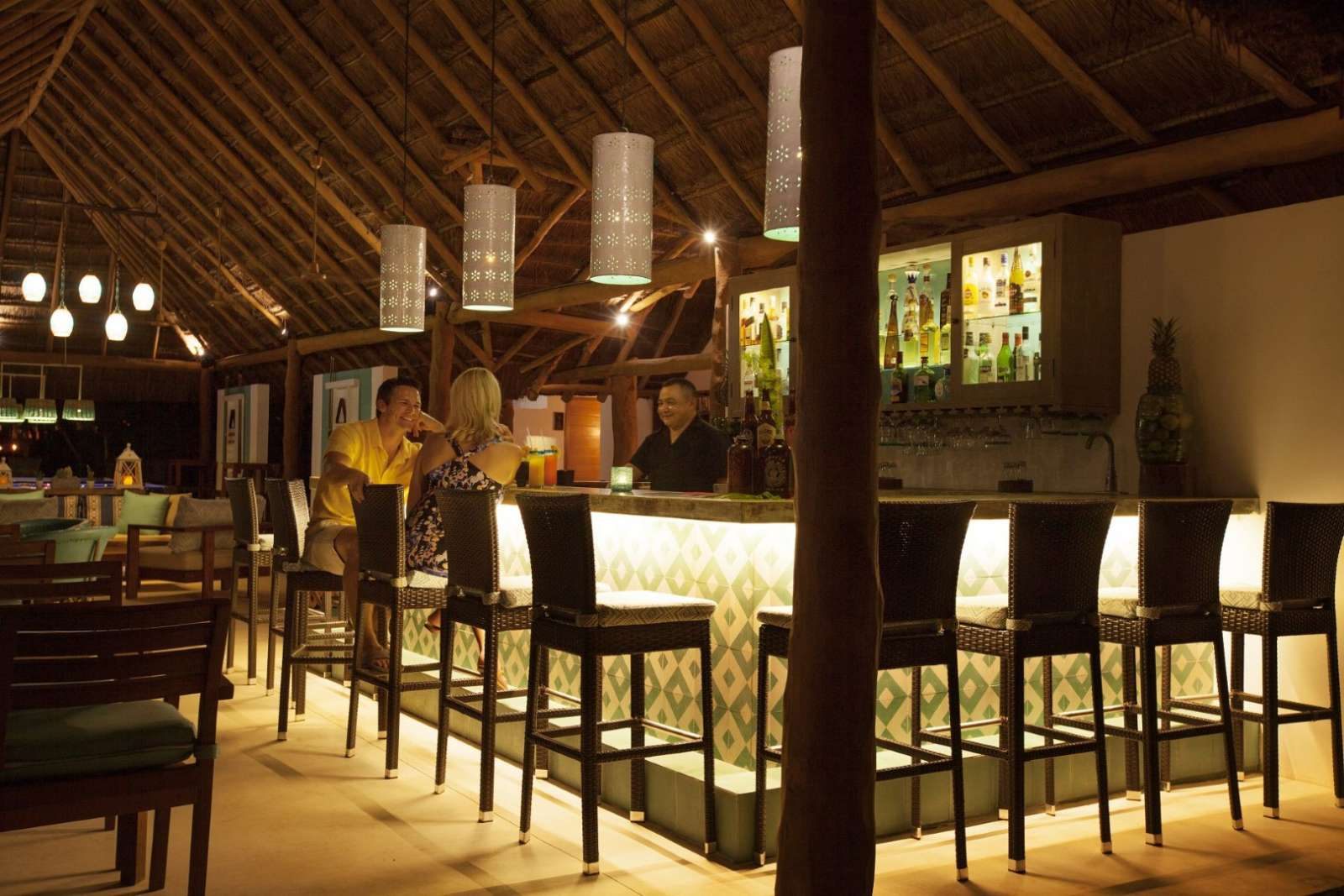 Bar at Mahekal Beach Resort